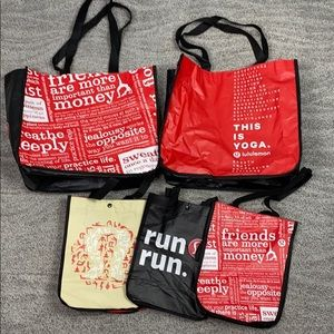Lululemon Shopping Bags